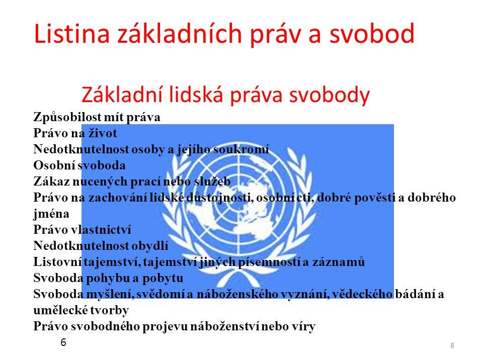 Listina základních práv a svobod