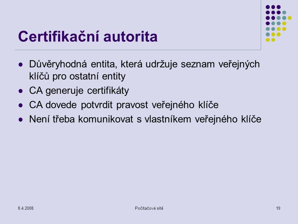 Certifikační autorita