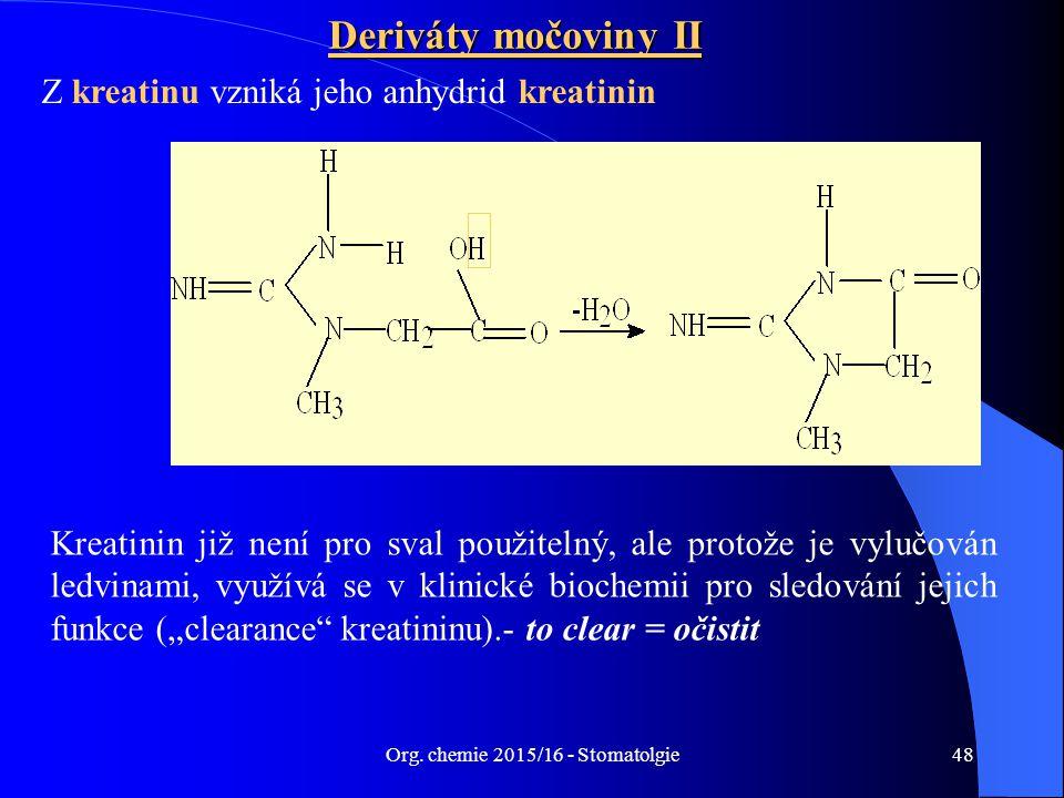 Org. chemie 2015/16 - Stomatolgie