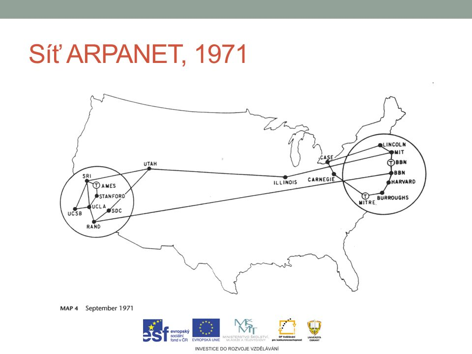 Síť ARPANET, 1971