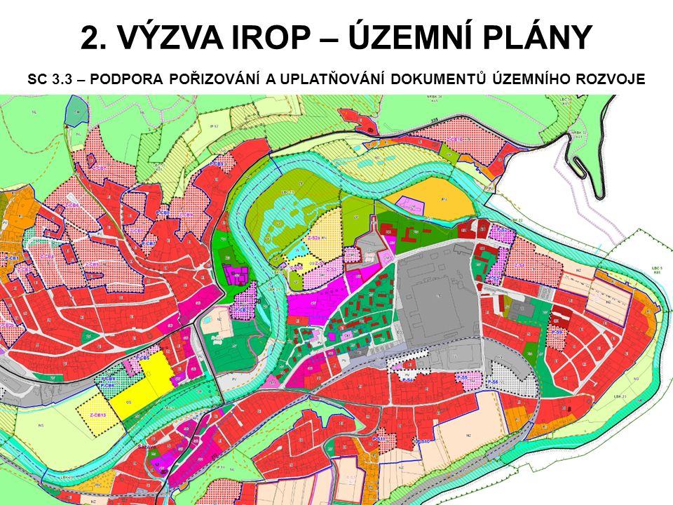 2. výzva IROP – Územní plány SC 3