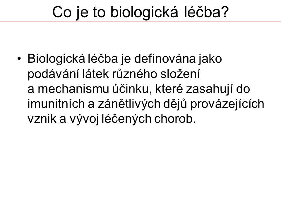 Co je to biologická léčba