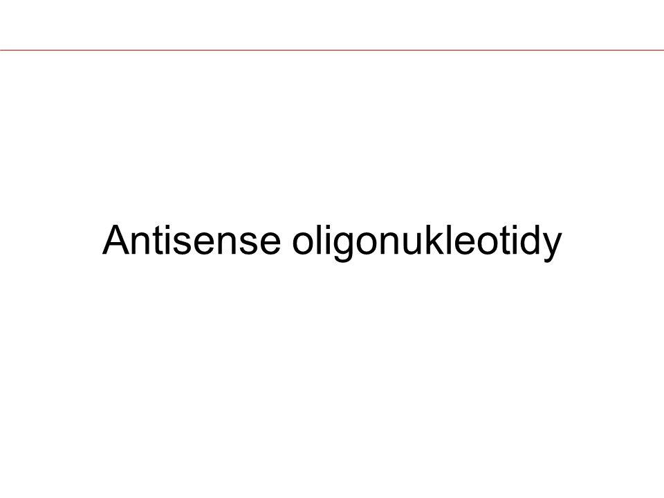 Antisense oligonukleotidy