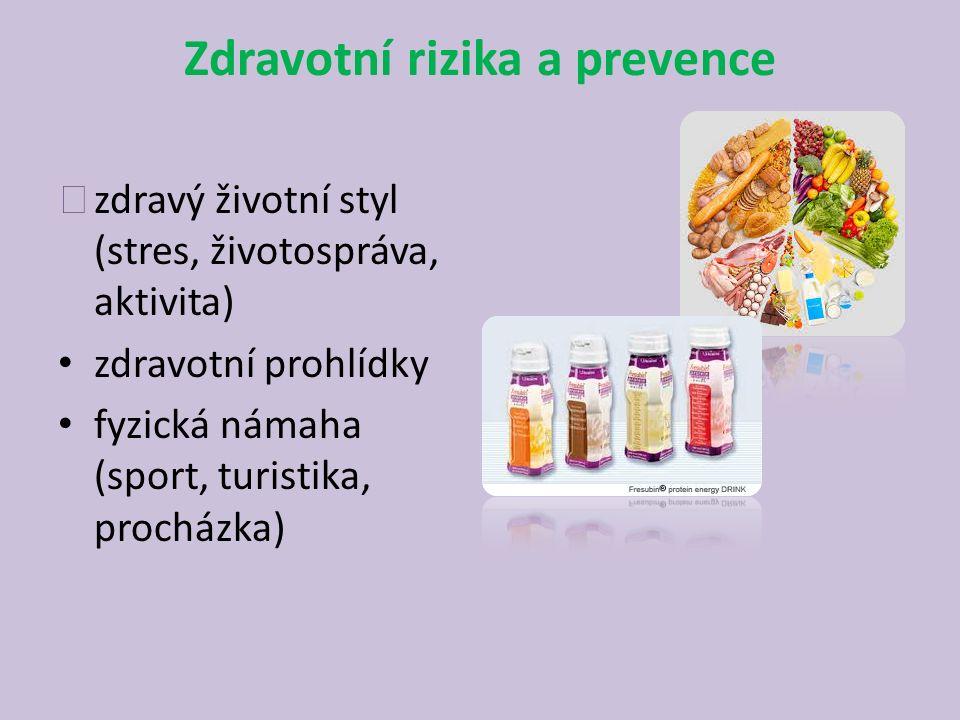Zdravotní rizika a prevence