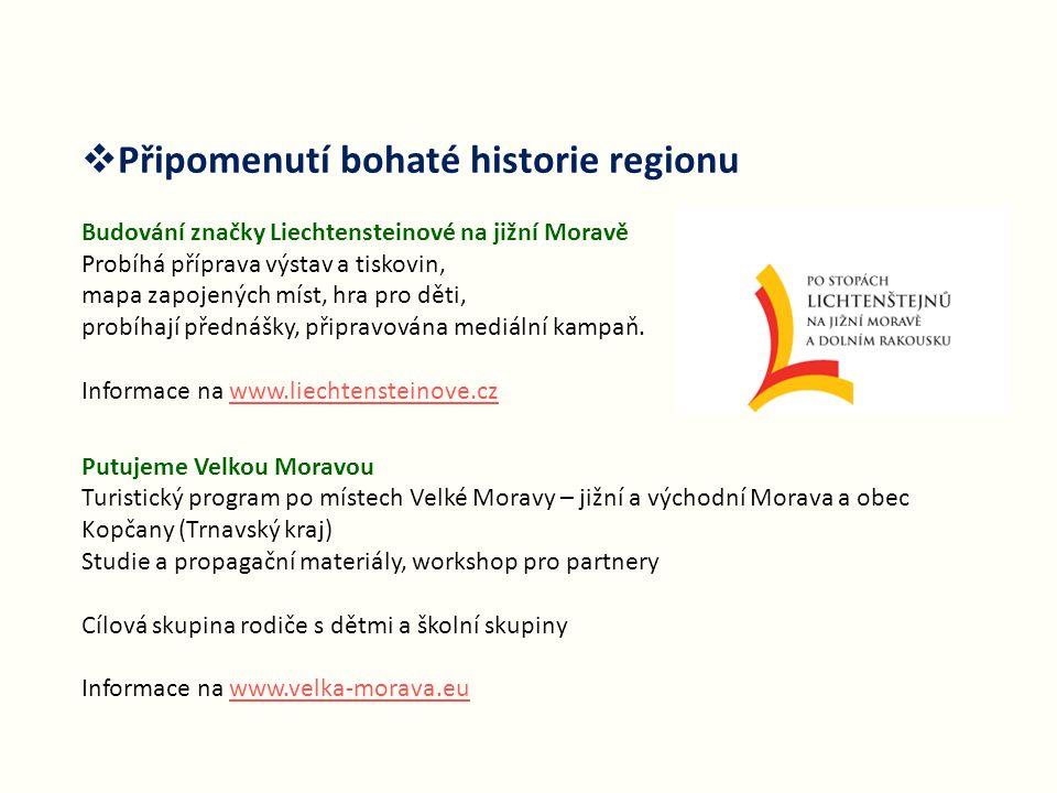 Připomenutí bohaté historie regionu