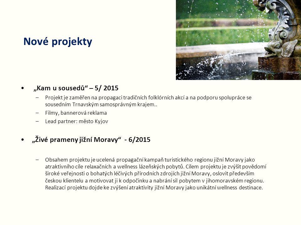 """Nové projekty """"Kam u sousedů – 5/ 2015"""