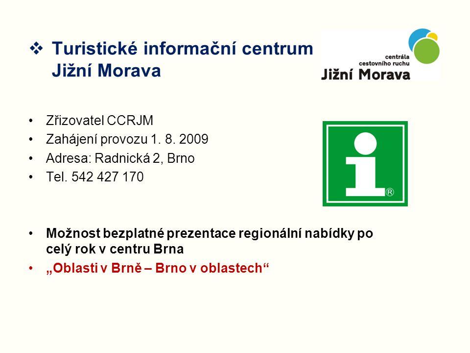 Turistické informační centrum Jižní Morava