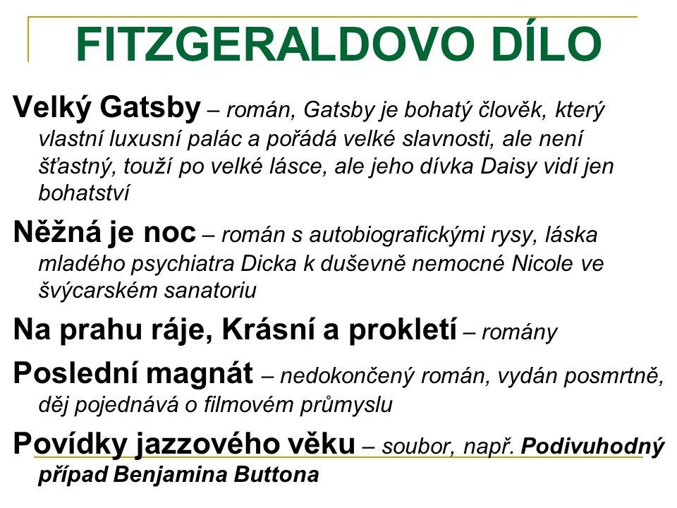 FITZGERALDOVO DÍLO
