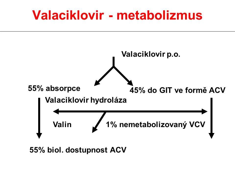Valaciklovir - metabolizmus