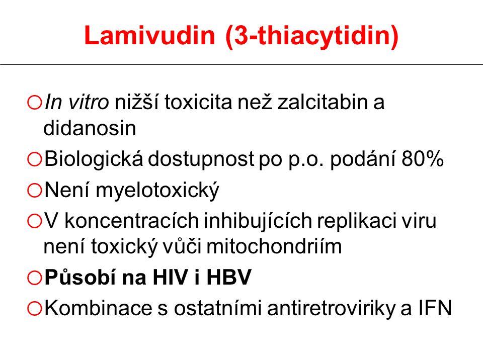 Lamivudin (3-thiacytidin)