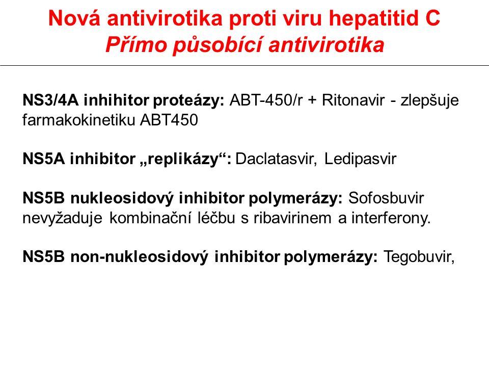 Přímo působící antivirotika