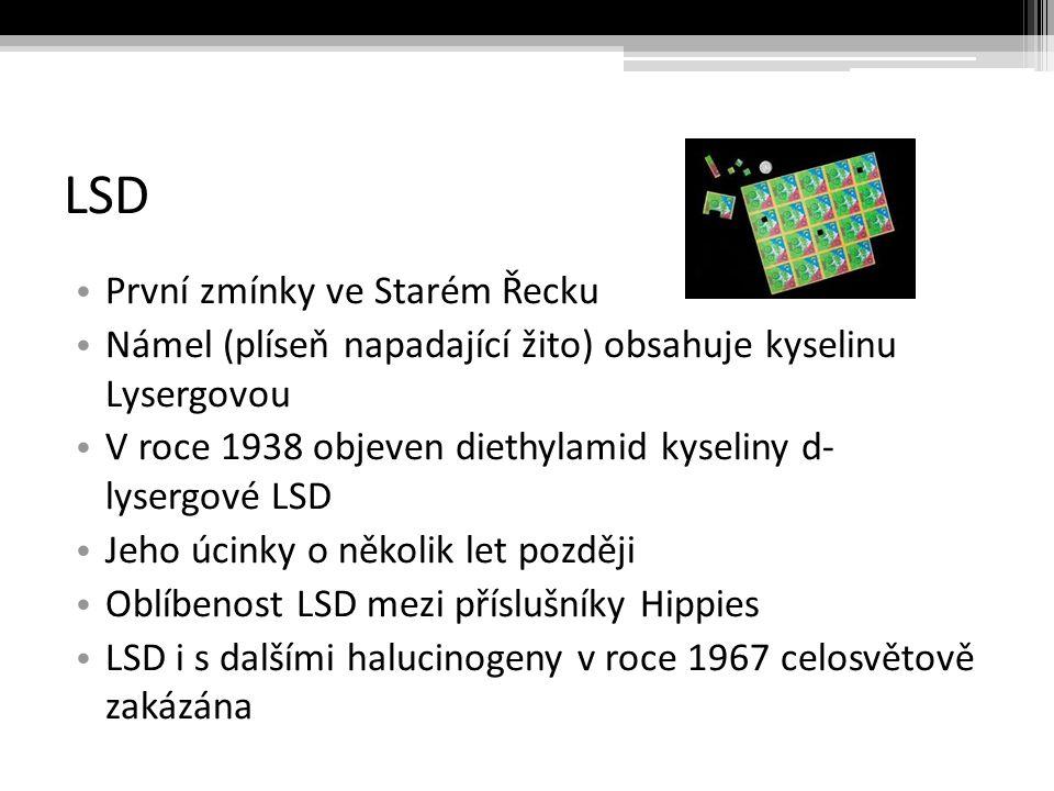 LSD První zmínky ve Starém Řecku