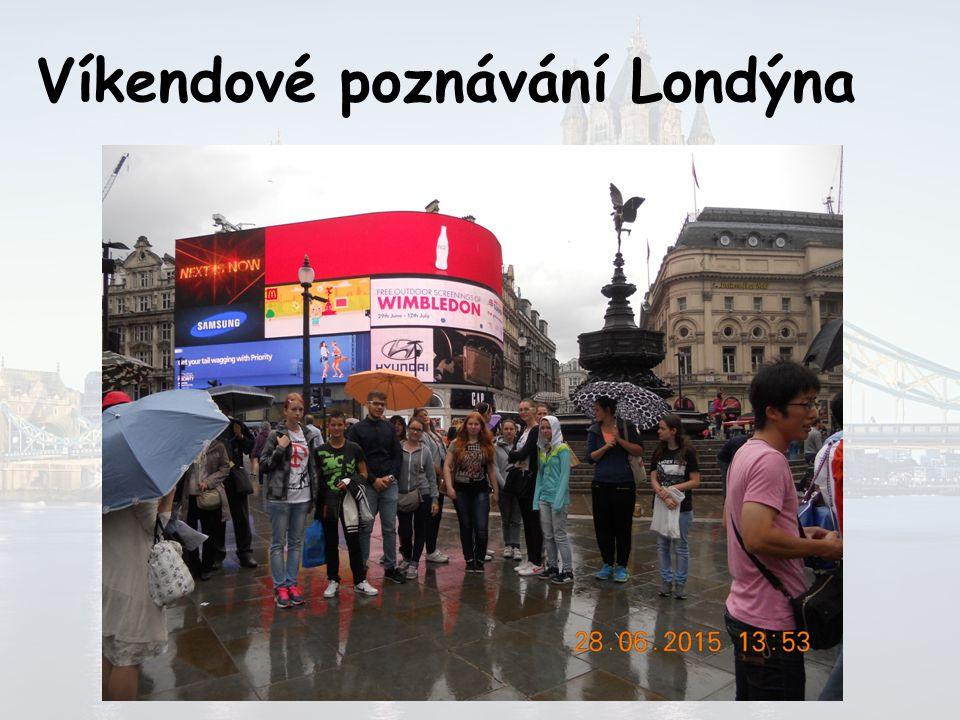 Víkendové poznávání Londýna