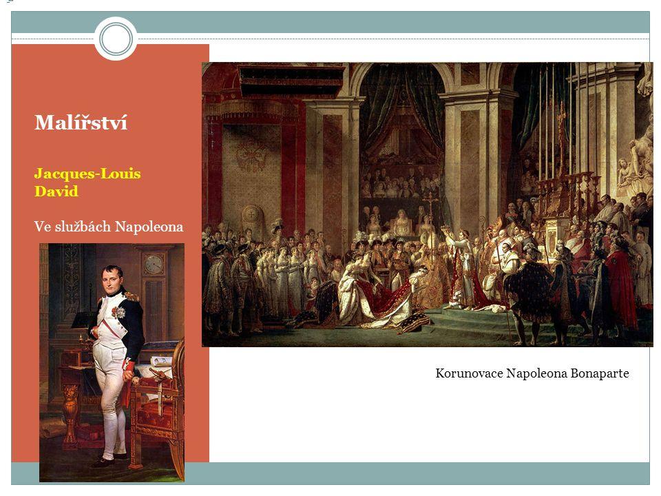 Malířství Jacques-Louis David Ve službách Napoleona