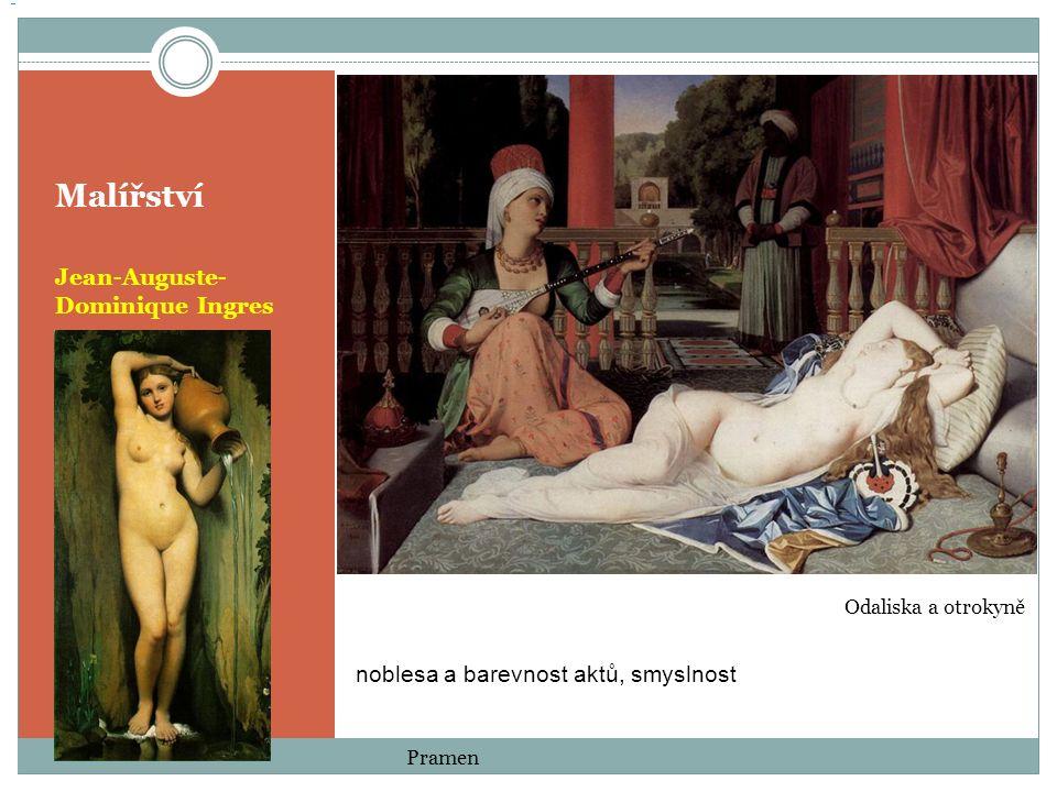 Malířství Jean-Auguste-Dominique Ingres