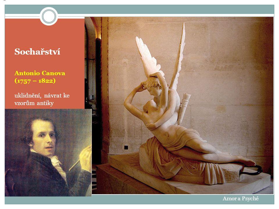 Sochařství Antonio Canova (1757 – 1822)