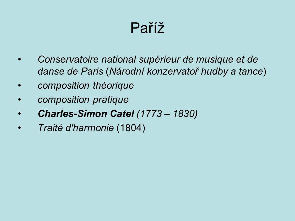 Paříž Conservatoire national supérieur de musique et de danse de Paris (Národní konzervatoř hudby a tance)