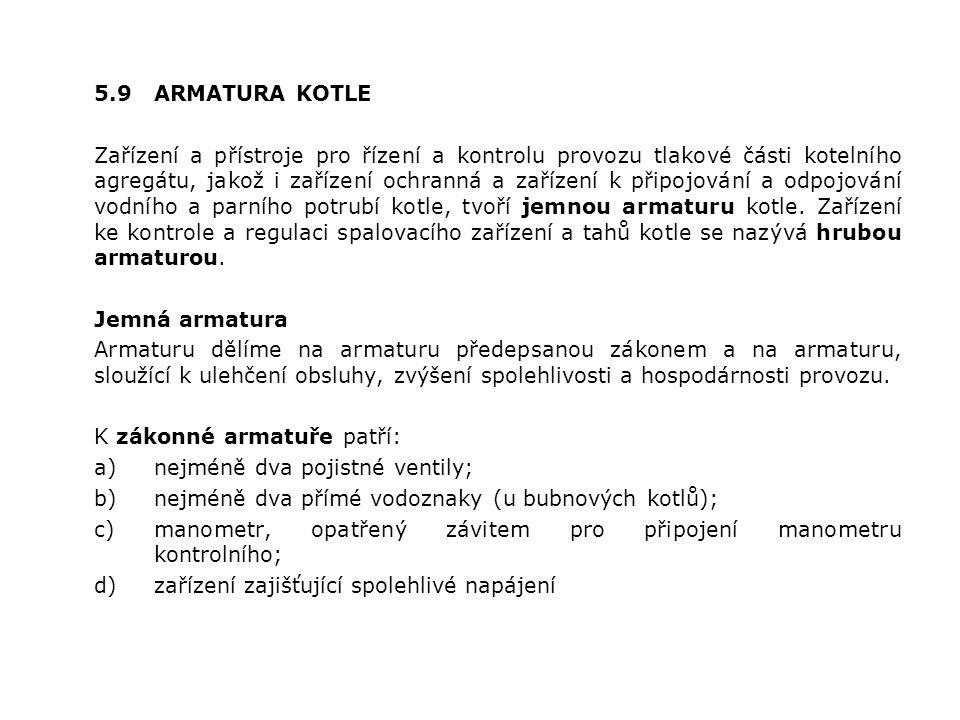 5.9 ARMATURA KOTLE