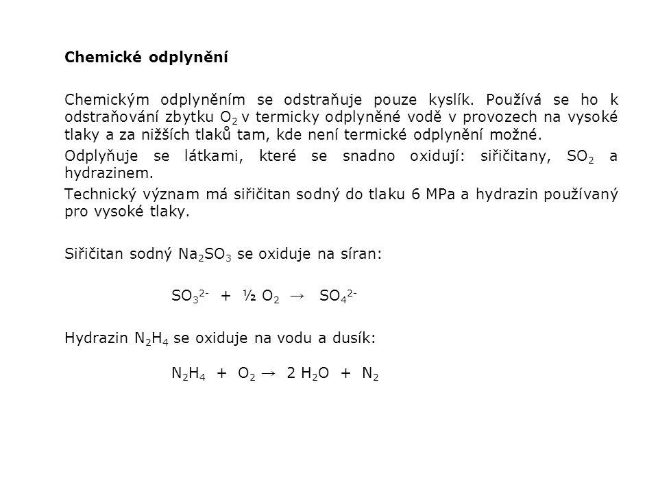 Chemické odplynění