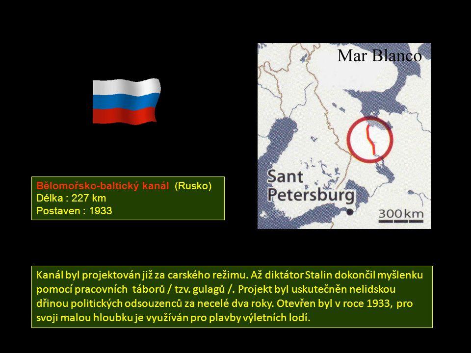 Bělomořsko-baltický kanál (Rusko)