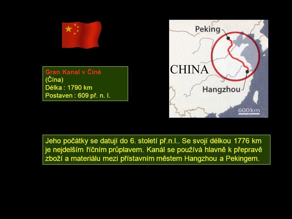 Gran Kanal v Číně (Čína)