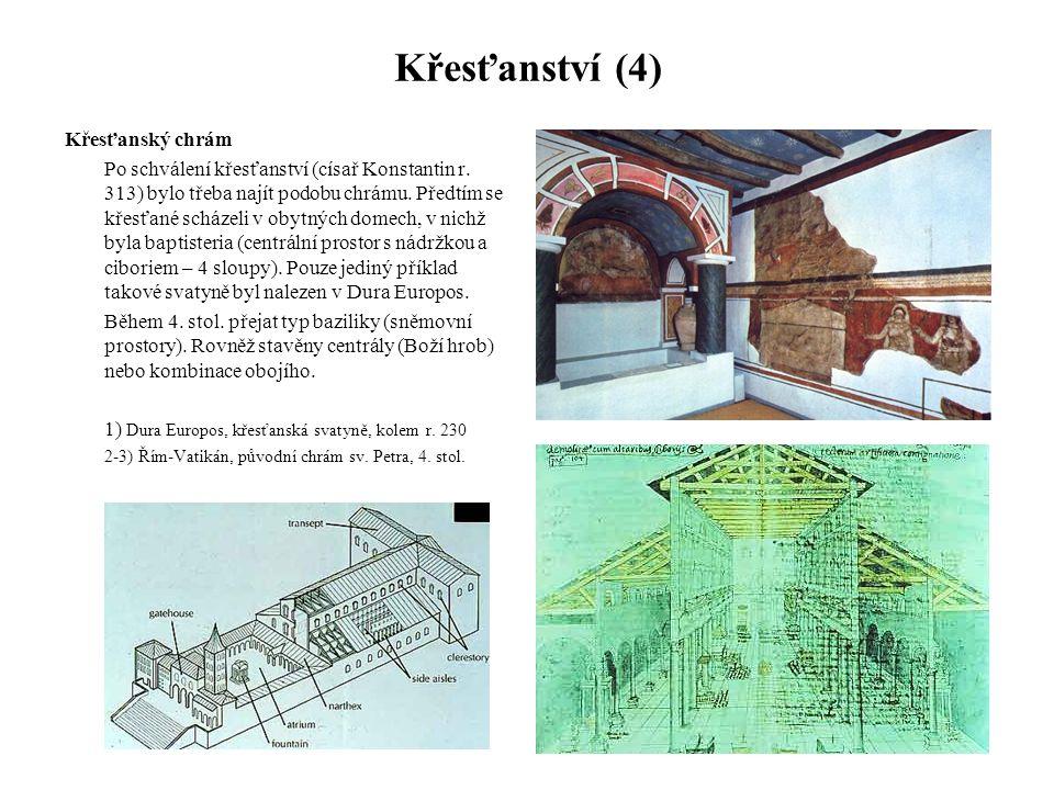Křesťanství (4) Křesťanský chrám
