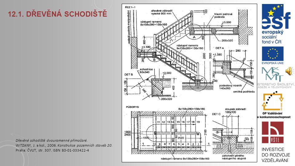 12.1. Dřevěná schodiště