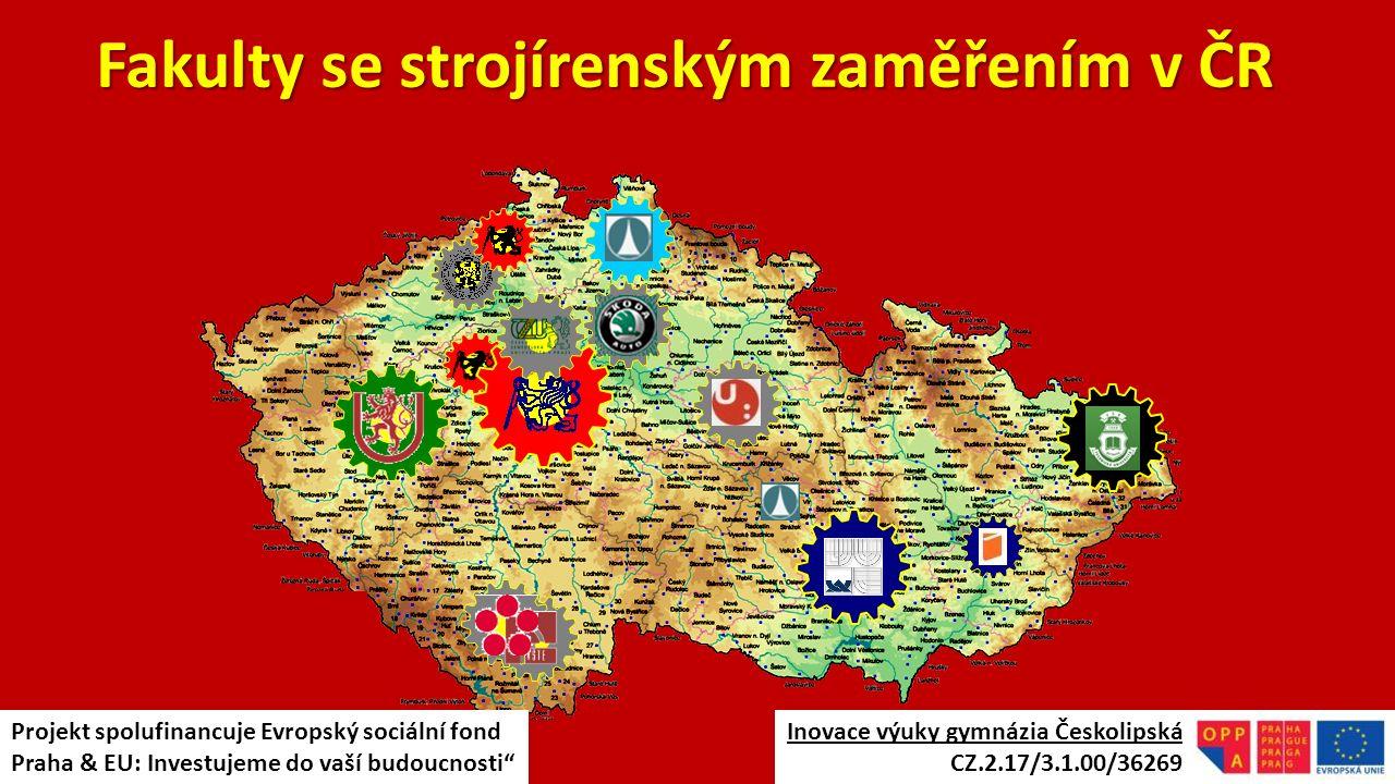 Fakulty se strojírenským zaměřením v ČR