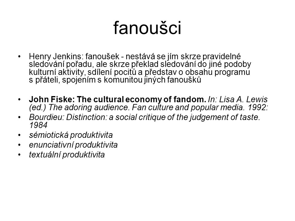 fanoušci