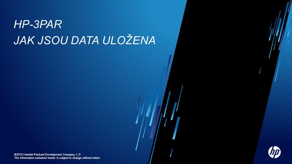HP-3PAR Jak jsou data uložena