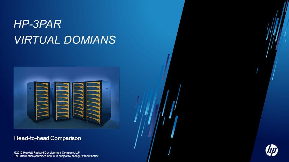 HP-3PAR Virtual Domians