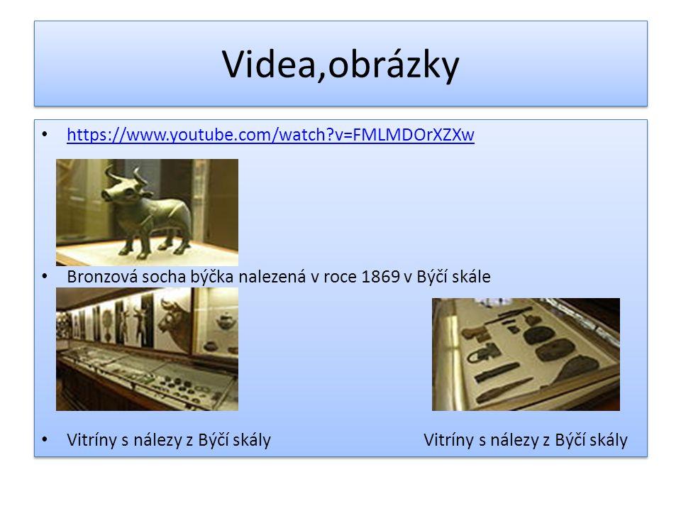 Videa,obrázky https://www.youtube.com/watch v=FMLMDOrXZXw