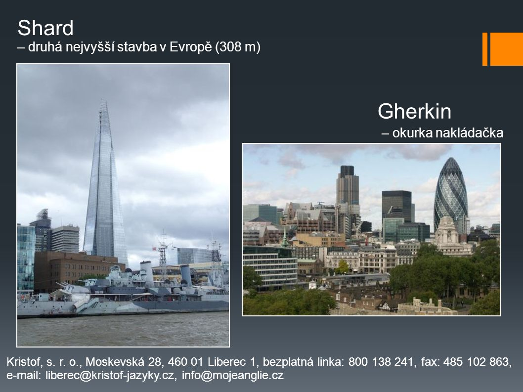 Shard Gherkin – okurka nakládačka