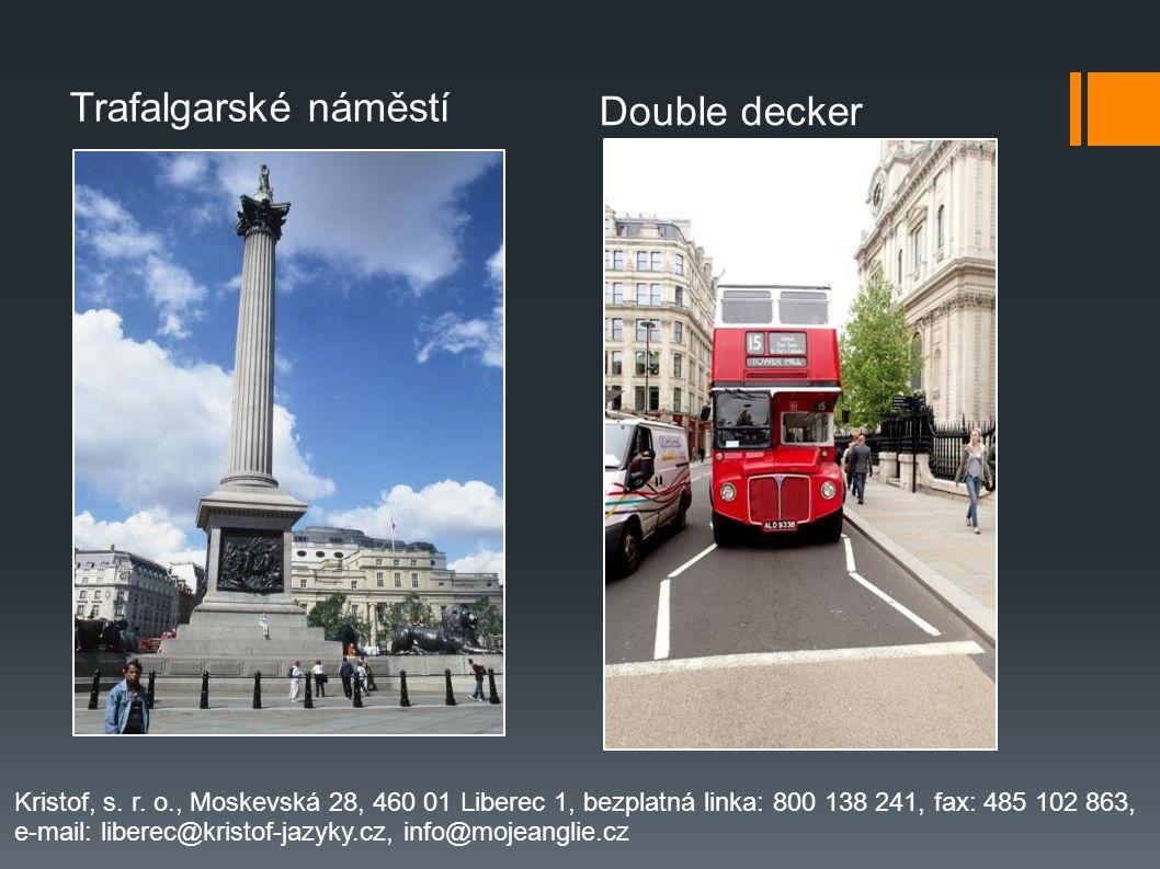 Trafalgarské náměstí Double decker