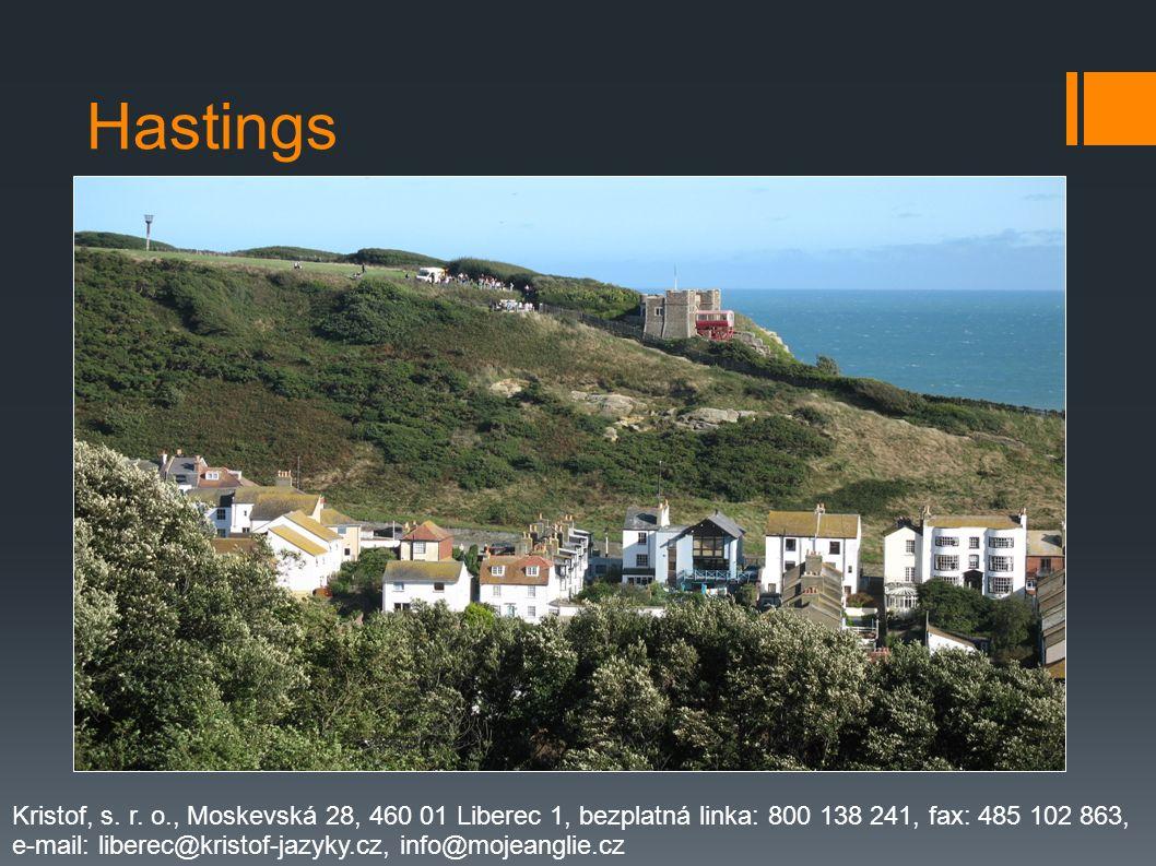 Hastings Kristof, s. r. o., Moskevská 28, 460 01 Liberec 1, bezplatná linka: 800 138 241, fax: 485 102 863,