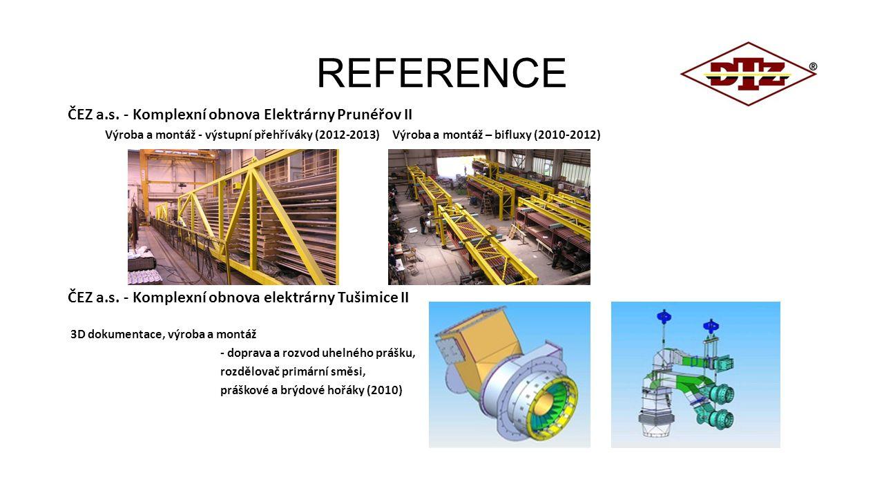 REFERENCE ČEZ a.s. - Komplexní obnova Elektrárny Prunéřov II