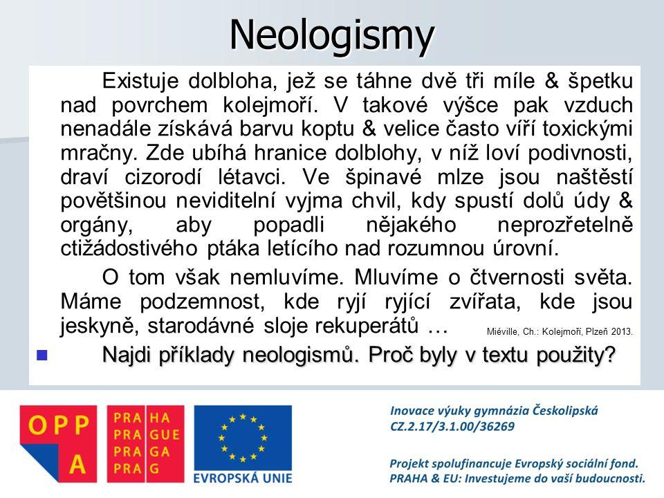 Neologismy