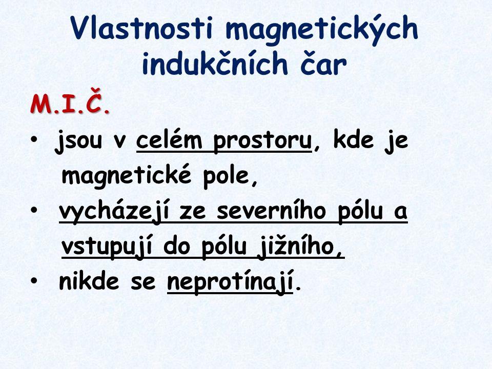Vlastnosti magnetických indukčních čar