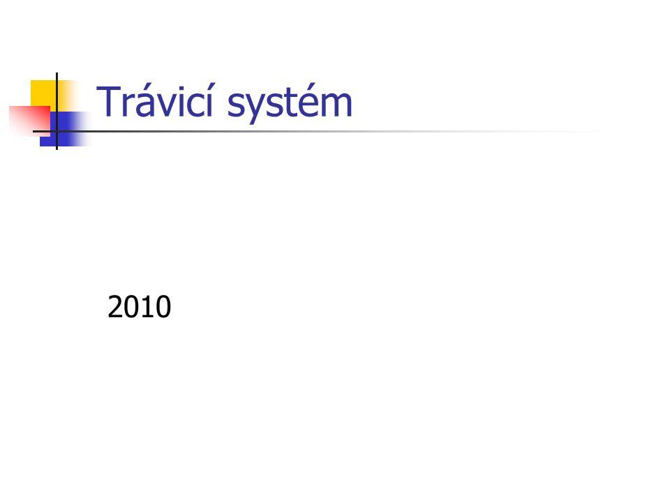 Trávicí systém 2010