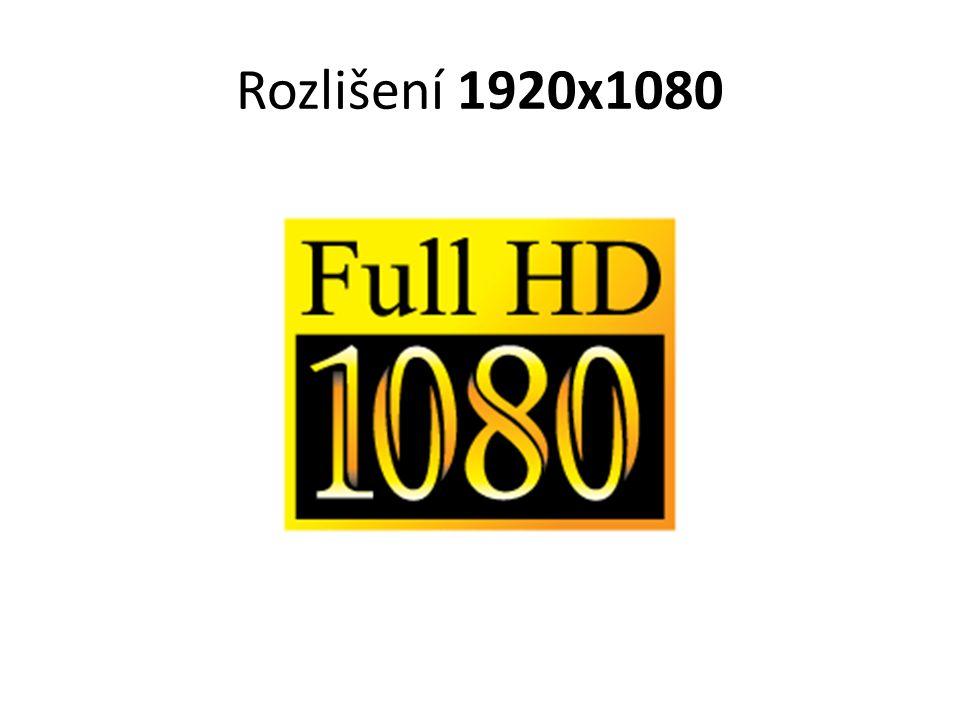 Rozlišení 1920x1080