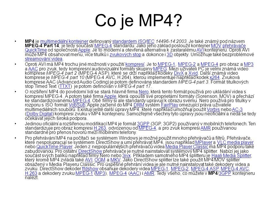 Co je MP4