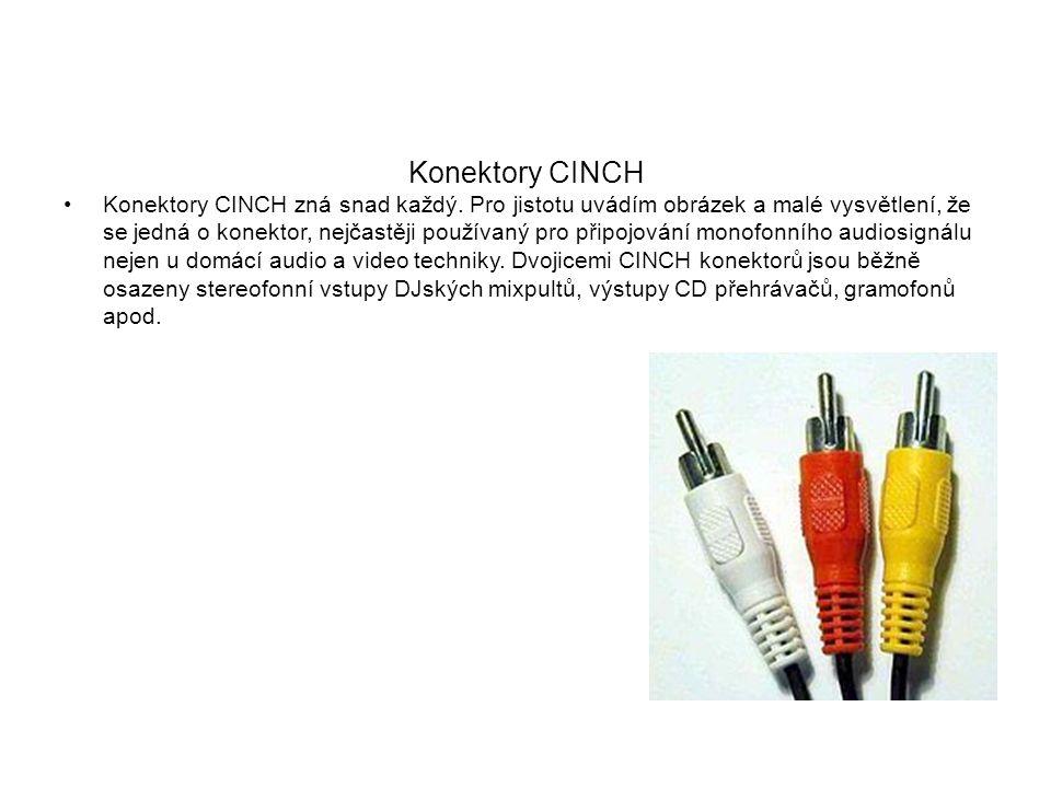 Konektory CINCH