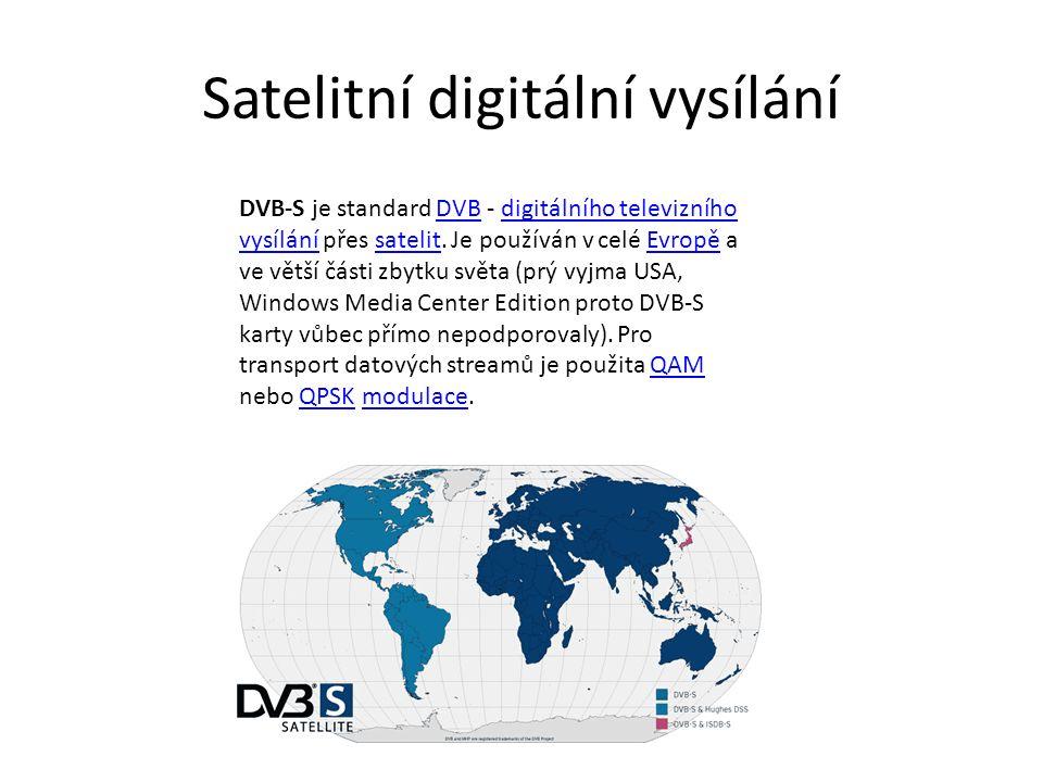 Satelitní digitální vysílání
