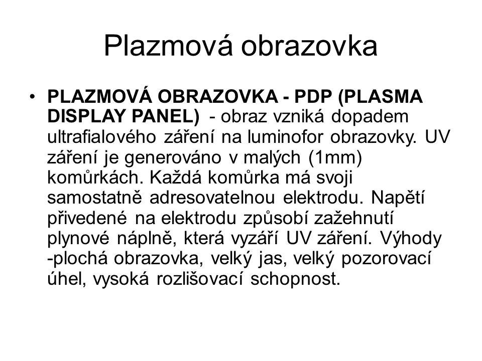 Plazmová obrazovka