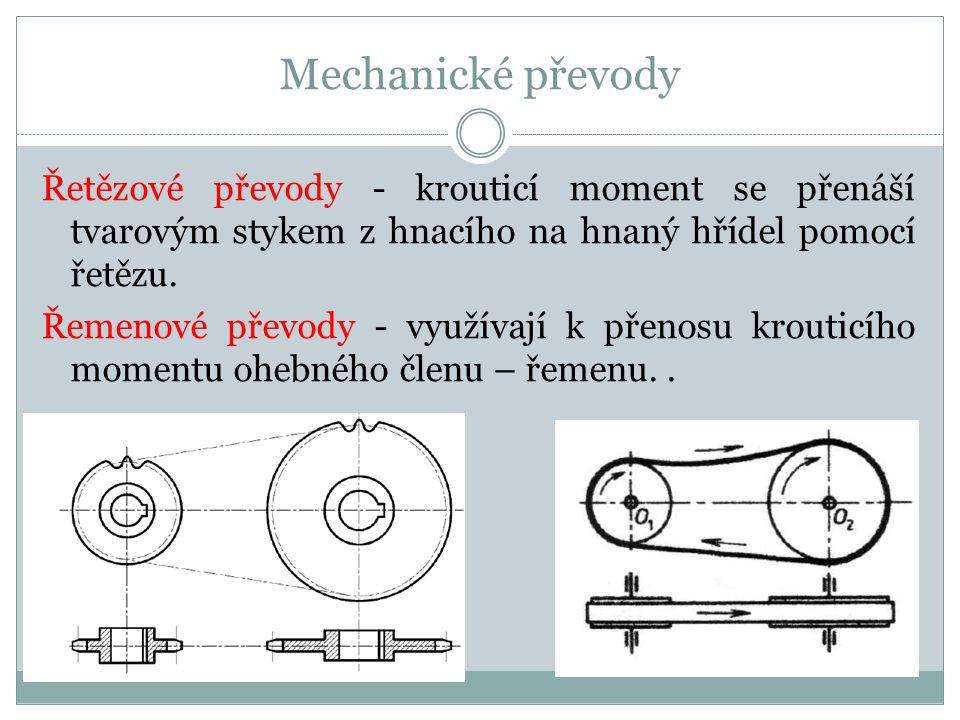 Mechanické převody