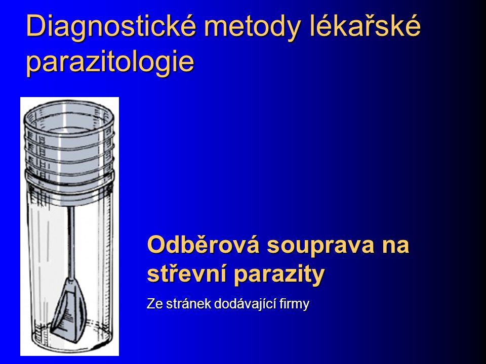 Diagnostické metody lékařské parazitologie