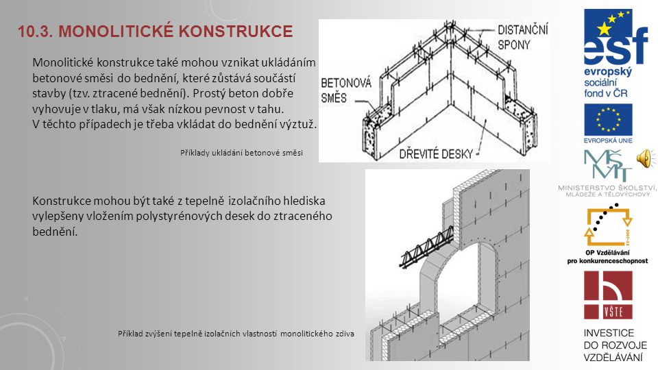 10.3. Monolitické konstrukce