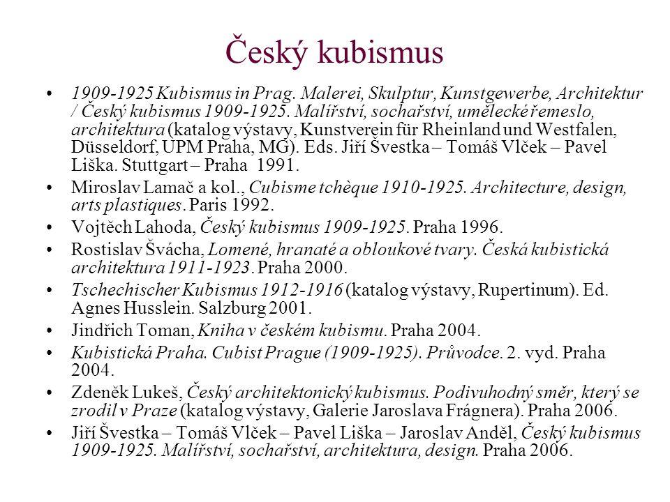 Český kubismus