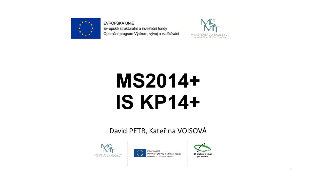 David PETR, Kateřina VOISOVÁ