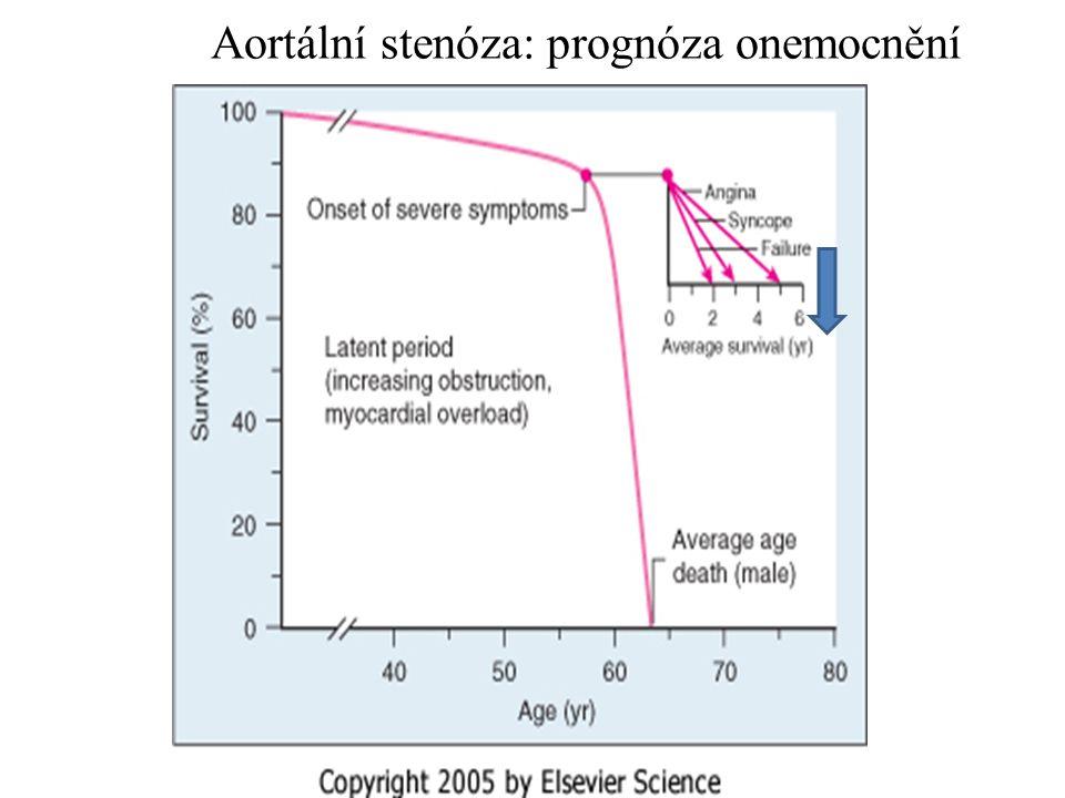 Aortální stenóza: prognóza onemocnění